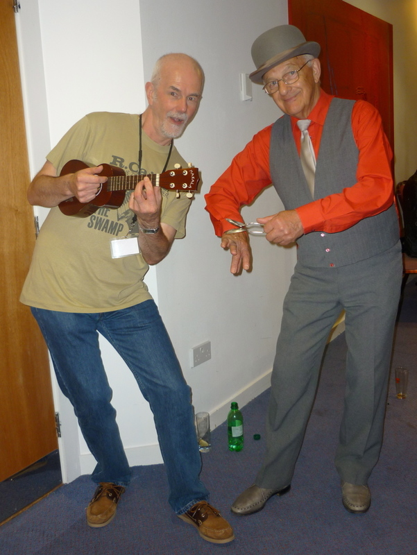 With Bert Draycot, World Spoons Champion